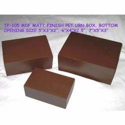 MDF Pet Urn Box