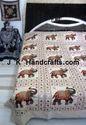 Indian Motif Handcraft Ethnic Beddings Bedsheets
