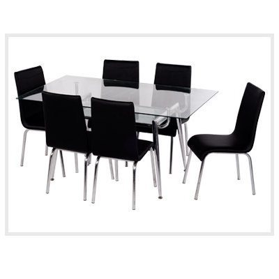 Gl Dining Table Set