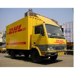 Courier Delivery Van Body