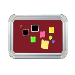 Metal 2D Board Pin Board, Shape: Rectangular, for Promotional