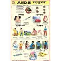 Charts on Aids HIV