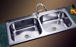 Double Bowl Kitchen Sink India