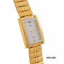 Ladies Fancy Golden Watch
