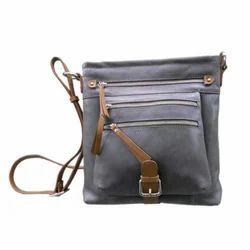 Top Zippered Cross Body Handbag