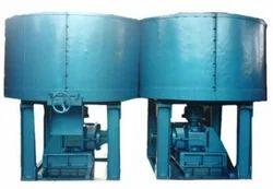 Double Pan Plough/Muller Mixer