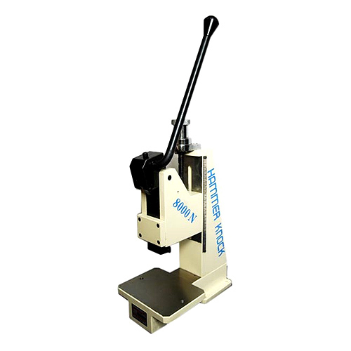 Hand Operated Toggle Press Machine Hammer Knock