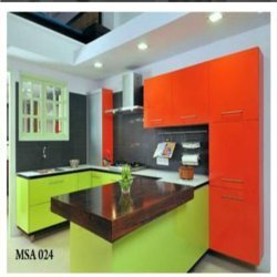 Laminate Designed Modular Kitchen