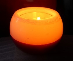 Glowing Decorative Candle - Eclipse