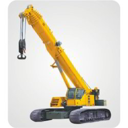 Telescopic Crawler Crane Hiring Services