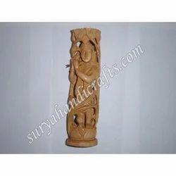 Wooden Chatri Krishna