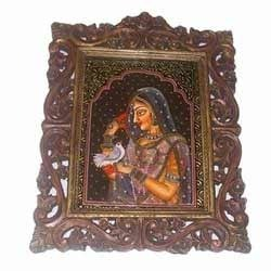 carving frame and embossed paintings
