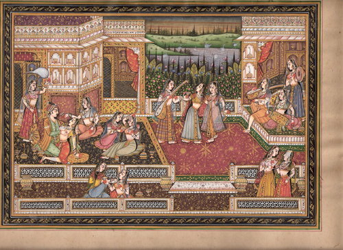 Miniature Paintings on Paper, मिनिएचर पेंटिंग in Devi Nagar, Jaipur ,  Miniature Painting | ID: 1467065697