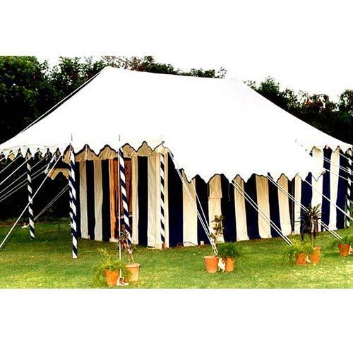 Multicolor Deluxe Swiss Cottage Bamboo Tent, For Resorts And Cottage