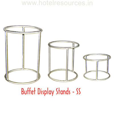 Buffet Display Stands Buffet Display Stands Ss at Rs 41 piece Display Stands ID 5