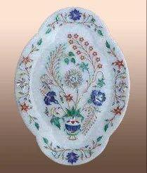 Marble Handicrafts-Plates