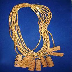 Sandalwood Chain with Elephant Tower Pendent