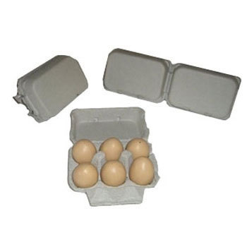 Pulp Egg Trays 6 Egg Cartons Manufacturer From Coimbatore