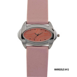 Pink Band Ladies Wrist Watch