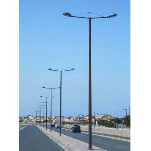 Street Light Pole Galvanized Powder Coated Street