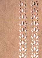 Biege Color Cutwork Paper