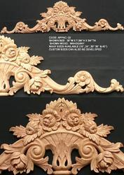 Liques Drops Architectural Wood Carvings Furniture