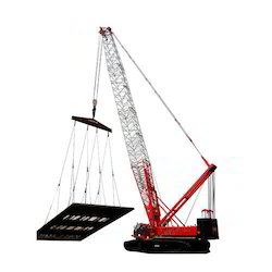 Telescopic Crawler Cranes Rental Service