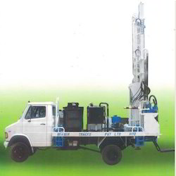 Pickup Truck Mounted Drill Rig