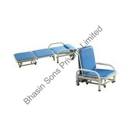 Attendant Bed Cum Chair 3 Fold