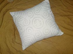 Applique Work Cotton Cushion Covers