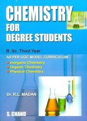 Chemistry Books - Chemistry For Degree Students B Sc 3rd Year