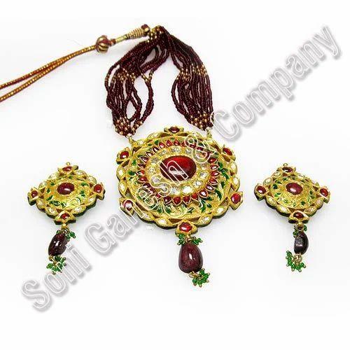 Indian Golden Designer Jewellery - SONI GANESH & CO , Jaipur | ID