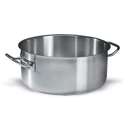 Stainless Steel Medium-Height Casseroles