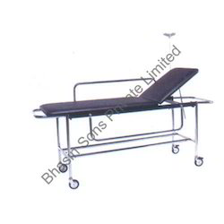 Stretcher on Trolley with Fixed Cushioned