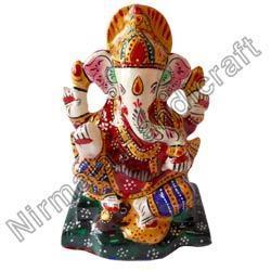 Ganesha Statue with Chowki