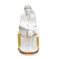 White Sai Nath Idol
