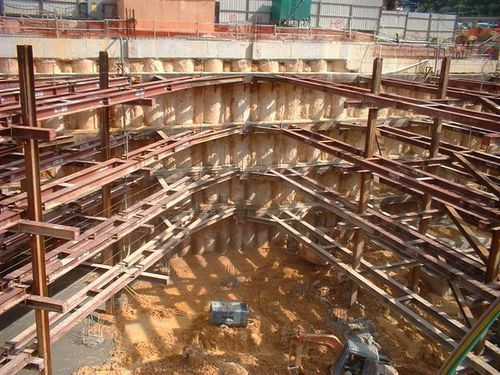 Fabrication Services Pile Support Strutting Work