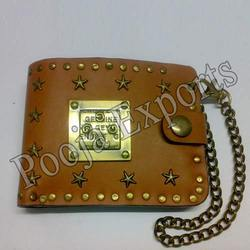 Designer Biker Leather Wallets