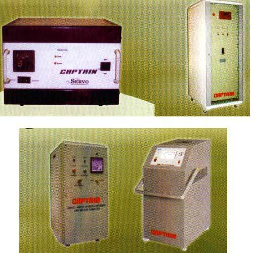 Cvt Constant Voltage Transformer Servo Controlled