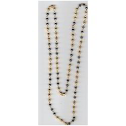 Golden Mala with Black Beads