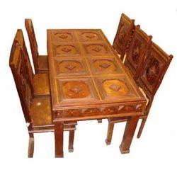 Wooden Dining Table Set In Jaipur Rajasthan