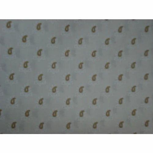 Khadi Gold Printed Fabric