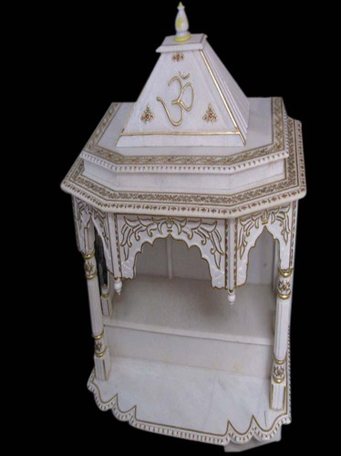 Golden Painted Marble Temples at Rs 1500 /inch(s) | संगमरमर ...