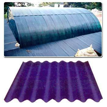 Fiber Sheet Fiber Roofing Sheet Wholesale Trader From