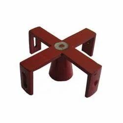 Cross Staff Aluminum / Brass in Wooden Box (Sapphire Brand), For Land Survey