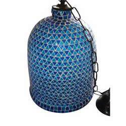 Mosaic Glass Lamp