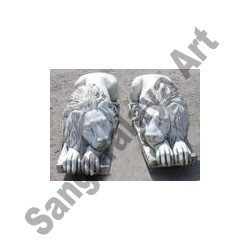Lion Marble Handicraft Statue