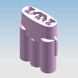 3 Way Female Water Proof Connector