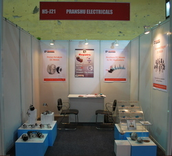 This is the Photo of Exhibition of Pranshu Electricals Private Limited