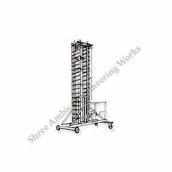 Aluminum Square type Tiltable Tower Ladders